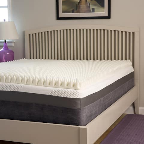 Slumber Perfect Highloft Supreme 3-inch Convoluted Memory Foam Topper