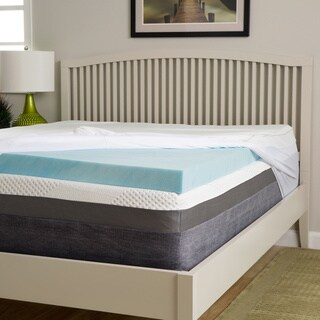 Slumber Perfect 3-inch Gel Memory Foam Topper with Waterproof Cover