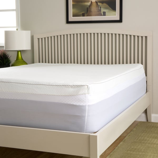 Slumber Perfect 4-inch Gel Memory Foam Topper with Waterproof Cover. Opens flyout.