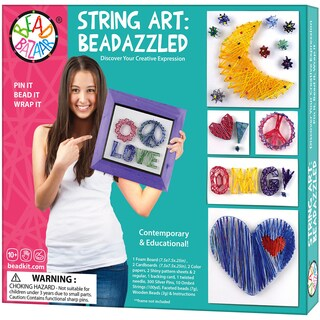 String Art Beadazzled Kit