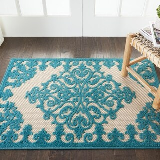 Nourison Aloha Indoor/ Outdoor Area Rug (2'8 x 4') - 2'8 x 4'