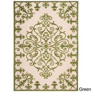 Nourison Aloha Indoor/ Outdoor Area Rug (5'3 x 7'5) (5 options available)