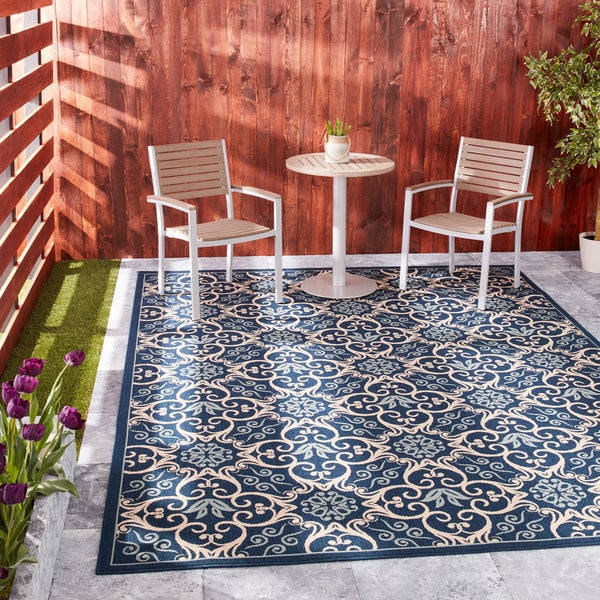 Nourison Caribbean Indoor/ Outdoor Graphic Rug - 3'11 x 5'11