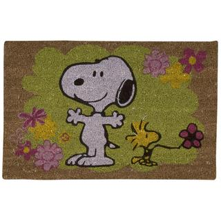 Peanuts by Nourison Welcome Multicolor Door Mat (1'6 x 2'4)