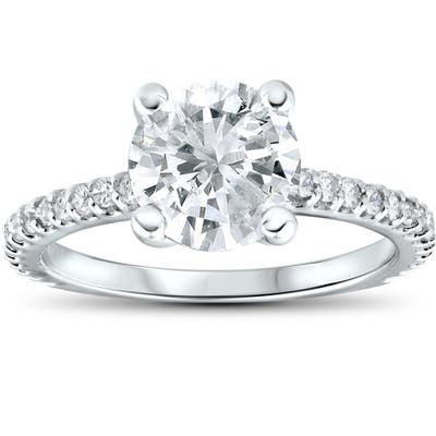 2 To 2 5 Carats Engagement Rings Shop Online At Overstock