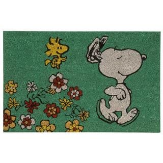 Peanuts by Nourison Welcome Blue Door Mat (1'6 x 2'4)
