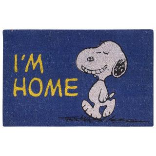 Peanuts by Nourison Welcome Navy Door Mat (1'6 x 2'4)