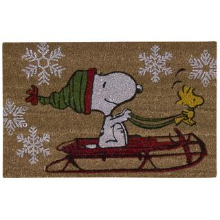 Peanuts by Nourison Welcome Beige Door Mat (1'6 X 2'4)
