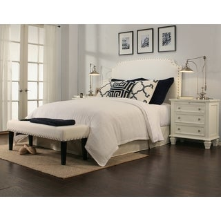 grosvenor white headboard bench collection