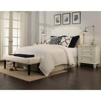Gracewood Hollow Jakes White Headboard-Bench Collection