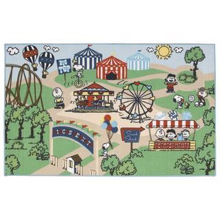Peanuts by Nourison Friends Multicolor Rug (3'3 x 5'3)