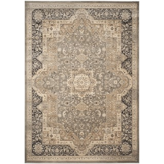 Shop Safavieh Vintage Oriental Taupe Black Distressed Rug