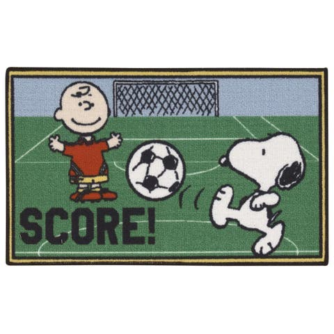 """Peanuts by Nourison Friends Green Accent Rug - 1'6"""" x 2'6"""""""