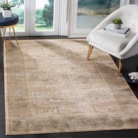 Safavieh Vintage Oriental Ivory/ Light Blue Distressed Rug - 9' x 12'