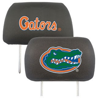 Fanmats Florida Gators Collegiate Charcoal Head Rest Covers Set of 2