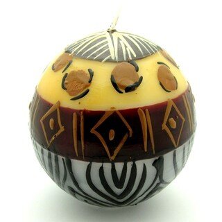 Handmade Ball Candle - Uzima Design - Nobunto Candles (South Africa)