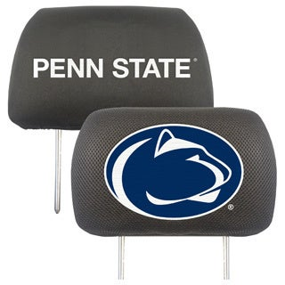 Fanmats Penn State Nittany Lions Collegiate Charcoal Head Rest Covers Set of 2