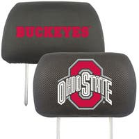 fanmats ohio state buckeyes collegiate black seat cover. Black Bedroom Furniture Sets. Home Design Ideas