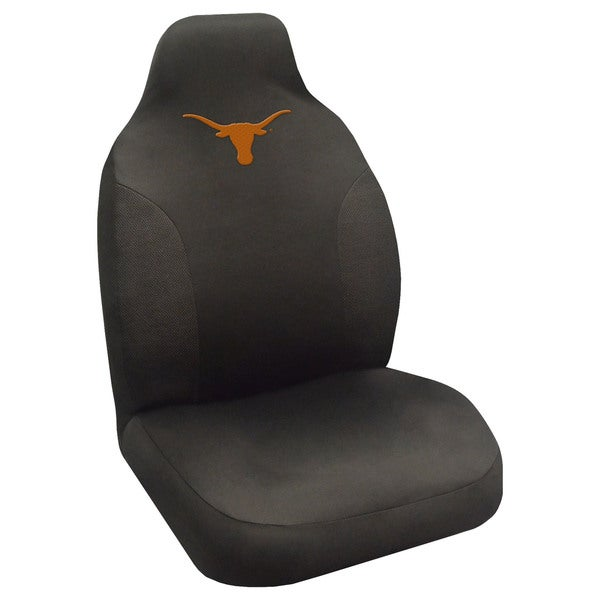 Fanmats Texas Longhorns Collegiate Black Seat Cover
