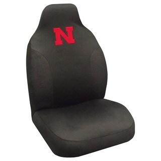 Fanmats Nebraska Cornhuskers Collegiate Black Seat Cover