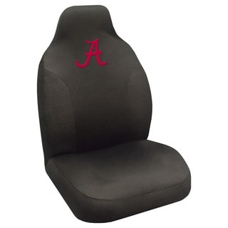 Fanmats Alabama Crimson Tide Collegiate Black Seat Cover
