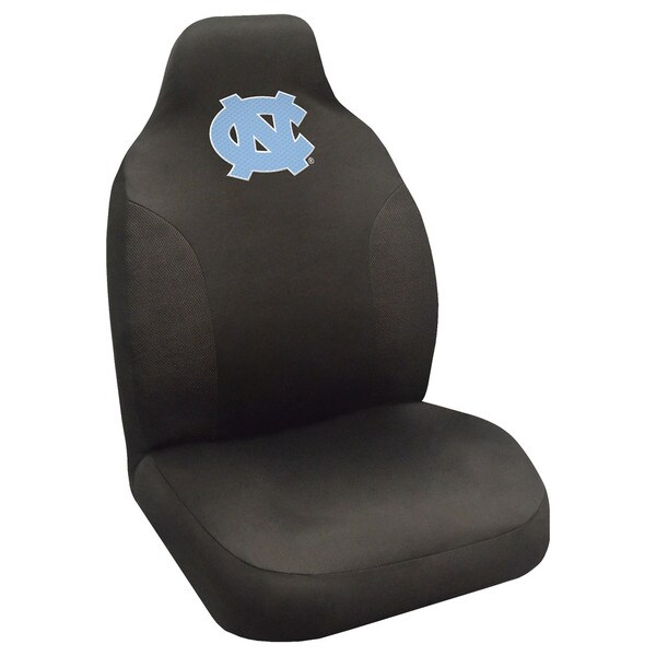 Fanmats North Carolina Tar Heels Collegiate Black Seat Cover