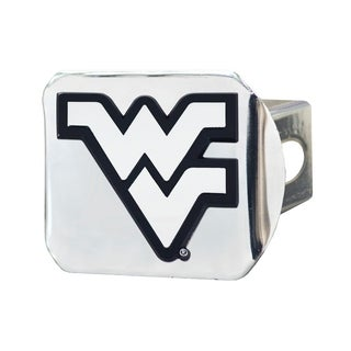 Fanmats West Virginia Mountaineers Chrome Metal Collegiate Hitch Cover