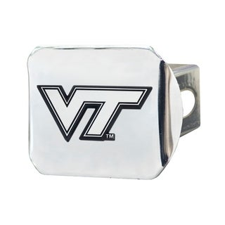 Fanmats Virginia Tech Hokies Chrome Metal Collegiate Hitch Cover