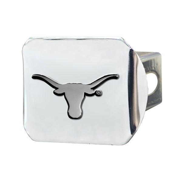 Fanmats Texas Longhorns Chrome Metal Collegiate Hitch Cover