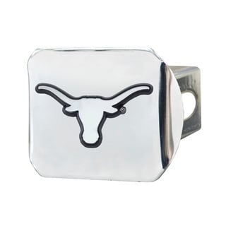 Fanmats Texas Longhorns Chrome Metal Collegiate Hitch Cover