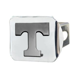 Fanmats Tennessee Volunteers Chrome Metal Collegiate Hitch Cover