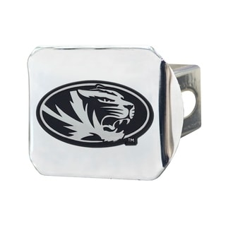 Fanmats Missouri Tigers Chrome Metal Collegiate Hitch Cover