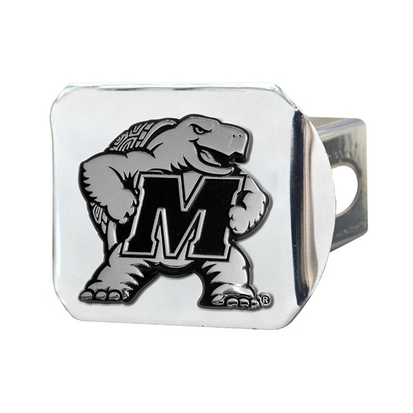 Fanmats Maryland Terrapins Chrome Metal Collegiate Hitch Cover