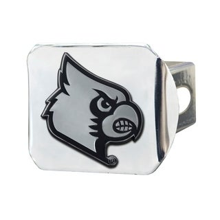 Fanmats Louisville Cardinals Chrome Metal Collegiate Hitch Cover