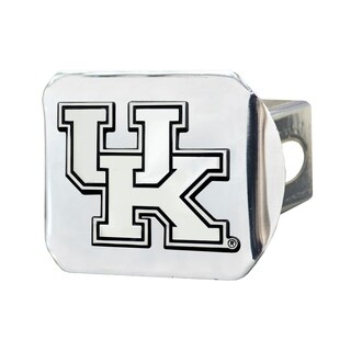 Fanmats Kentucky Wildcats Chrome Metal Collegiate Hitch Cover