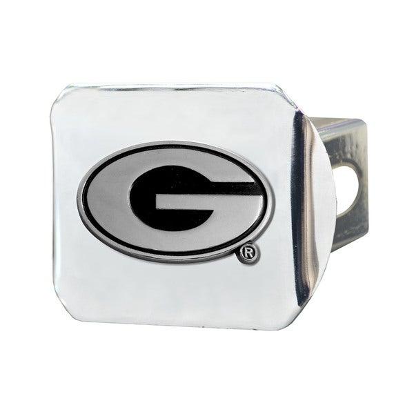 Fanmats Georgia Bulldogs Chrome Metal Collegiate Hitch Cover