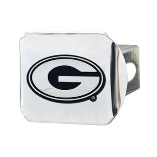 Fanmats Georgia Bulldogs Chrome Metal Collegiate Hitch Cover