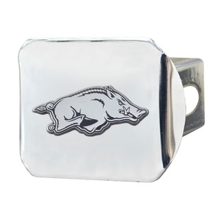 Fanmats Arkansas Razorbacks Chrome Metal Collegiate Hitch Cover