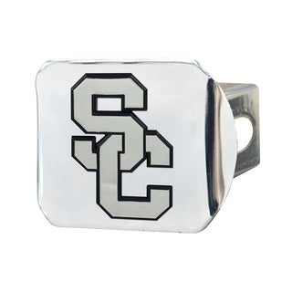 Fanmats USC Trojans Chrome Metal Collegiate Hitch Cover