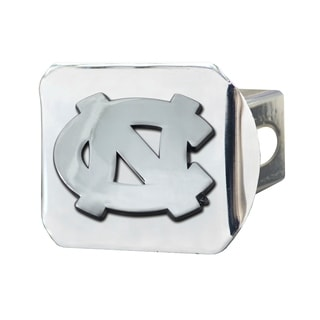 Fanmats North Carolina Tar Heels Chrome Metal Collegiate Hitch Cover