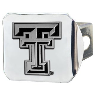 Fanmats Texas Tech Raiders Chrome Metal Collegiate Hitch Cover