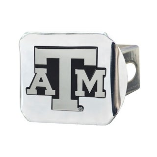 Fanmats Texas A&M Aggies Chrome Metal Collegiate Hitch Cover