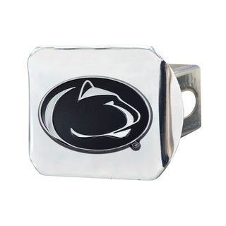 Fanmats Penn State Nittany Lions Chrome Metal Collegiate Hitch Cover