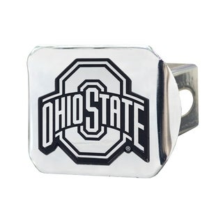 Fanmats Ohio State Buckeyes Chrome Metal Collegiate Hitch Cover