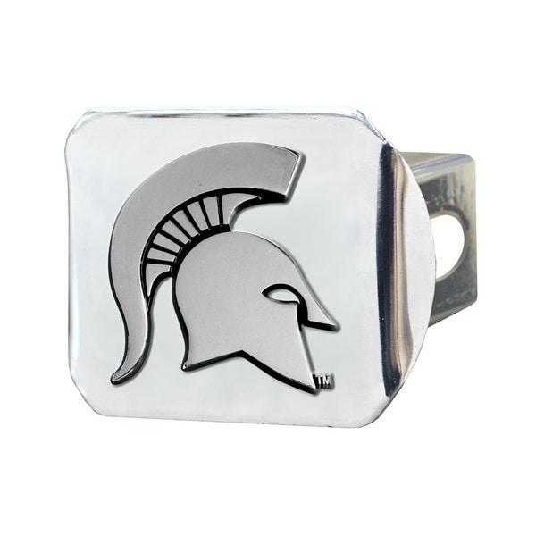 Fanmats Michigan State Spartans Chrome Metal Collegiate Hitch Cover