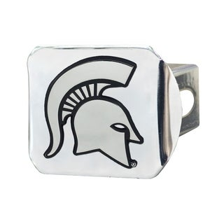 Fanmats Michigan State Spartans Chrome Metal Collegiate Hitch Cover