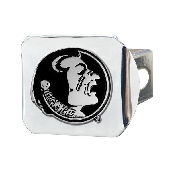Fanmats Florida State Seminoles Chrome Metal Collegiate Hitch Cover