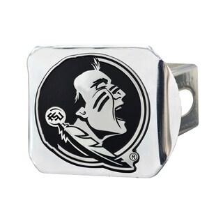 Fanmats Florida State Seminoles Chrome Metal Collegiate Hitch Cover