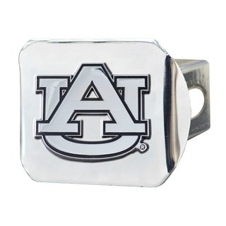 Fanmats Auburn Tigers Chrome Metal Collegiate Hitch Cover
