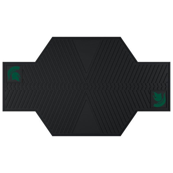 Fanmats Michigan State Spartans Black Rubber Motorcycle Mat